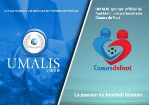 Umalis,Leader du portage salarial, sponsor coeurs de foot